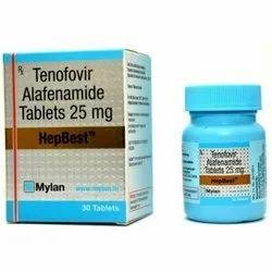 Tenofovir alafenamide 25 mg