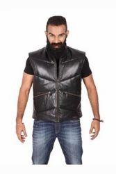 Robin  Black Sleeveless Jacket