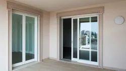 Encraft Pristine White Upvc Sliding Doors, For Home