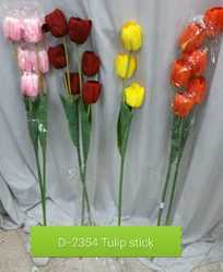 D2354 Artificial Tulip Stick