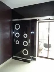 Kohinoor Furniture Black KF-WR-1 Metal Wardrobes for Home