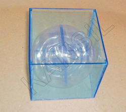 Combination Of Cube And Sphere ( Transparent) For Mathematic