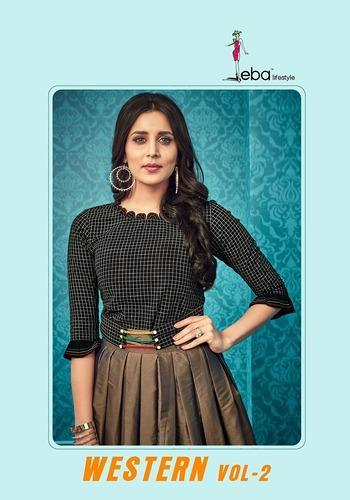 61648e779a Cotton Round Neck Top And Skirt, Rs 995 /piece, B.A. Textile Mills ...