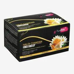 Purepink Haldi Chandan Bleach Cream, For Personal, Packaging Size: 250 Ml
