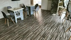 Pritam Decor Variety Of Color PVC Wooden Flooring, For Indoor, 1.5 Mm - 3 Mm