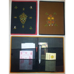 Rajasthani Cloth File Folder