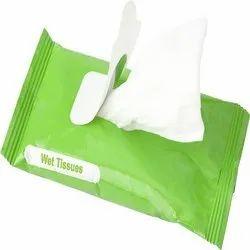 Wet Tissue Paper