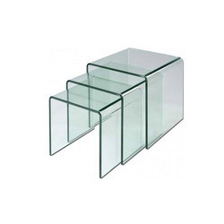 Transparent Bent Glass