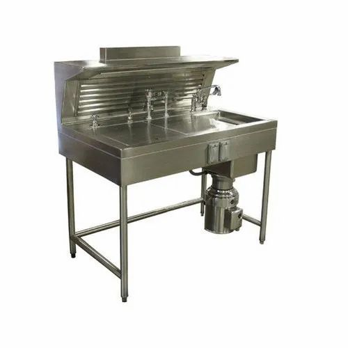Stainless Steel Single Bowl Sink Laboratory Workstation