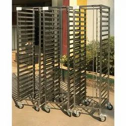 Stainless Steel GN Pan Trolleys