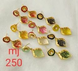 Meenakari Party Wear Earring