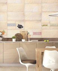 Ceramic 12x24 Digital Kitchen Wall Tiles, Thickness: 0-5 mm