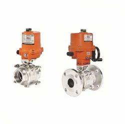 Industrial Actuator Ball Valves