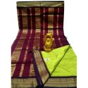 Party Wear Gadwal Cotton Silk Sarees