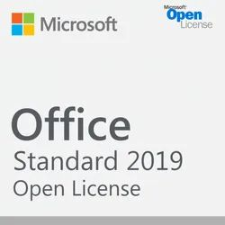 Microsoft Office Standard 2019 Software