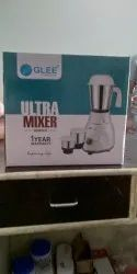 White Pan India Mixer Grinders, Model Name/Number: Glee Ultra, 300 W - 500 W