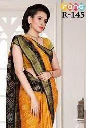 Rang Vol-16 Handcrafted Bandhani Printed Saree