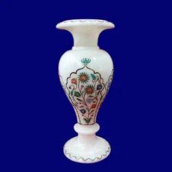 Marble Inlay Designer Vases