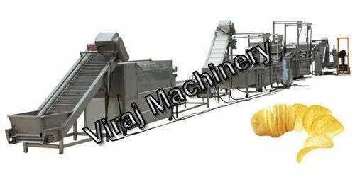 Fully Automatic Potato Chips Processing Line