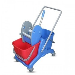 Heavy Duty Deluxe Wringer Trolley 50Lit