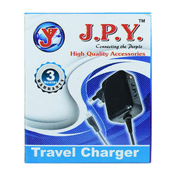 Black Travel Charger