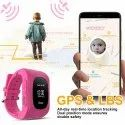 OMNiX Q50 Smart Watch for Kids LBS GPS Tracker for Children Wearable Screen with SIM Card Slot