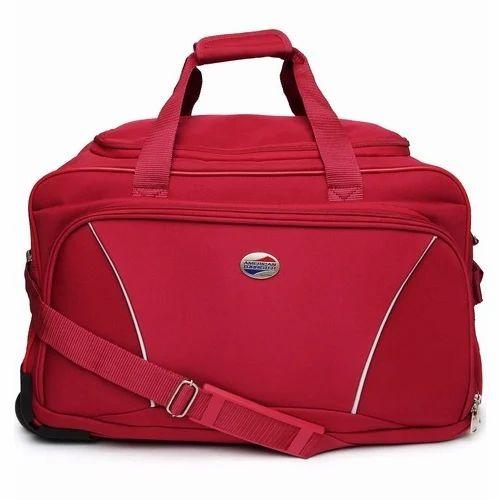 American Tourister Red Duffle Bag 7b4c159079546
