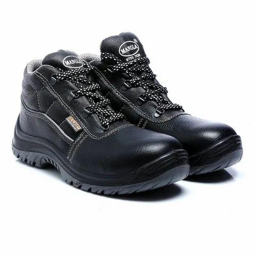 ISI Mangla Non Metallic Safety Shoes