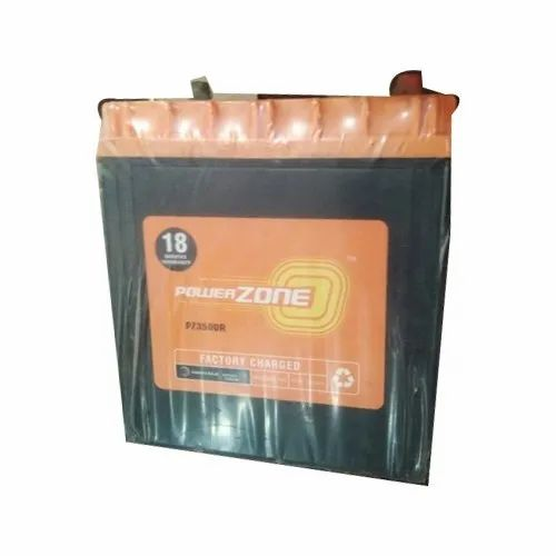 12 V Power Zone Car Battery 35ah, Model Name/Number: Pz3500r/L, Battery Type: Acid Lead Battery