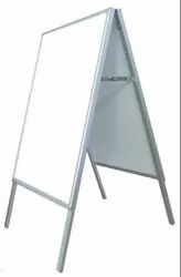 A Frame Sign Board, Shape: Rectangular