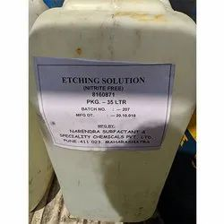 Nitrite Free Etching Solution