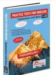 Practice Test Book For English