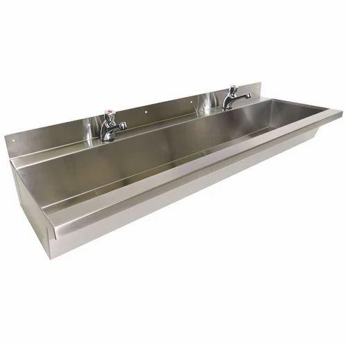 Stainless Steel Wash Basin स्टेनलेस स्टील वॉश बेसिन At Rs