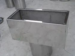 Stainless Steel Metal Rectangular Planters