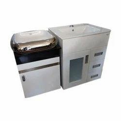 pvc wash basin cabinet