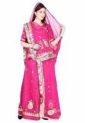 Ladies Chiffon Designer Rajputi Poshak