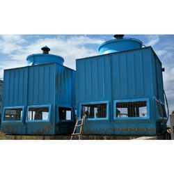 Three Phase Cross Flow FRP Induced Cooling Towers, 380 V, Capacity (Litre/sec): 10000 Litre