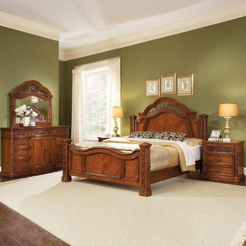 Wooden Brown Bed, Size: 6.25 X 5 Feet