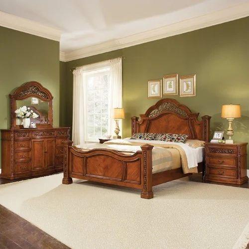 Merveilleux Simple Wooden Bed