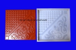 Chequered Tile Mould