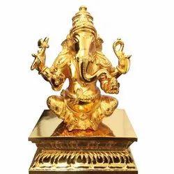 Four Handed Ganesha Statue