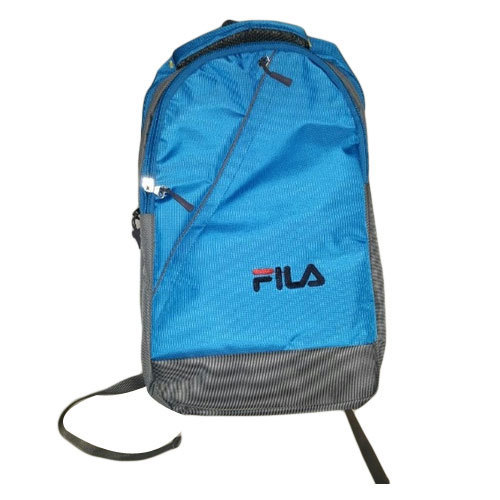 4019ec24c6 Fila Blue And Grey Boys School Bag