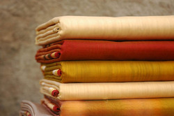Chanderi Dress Material Fabric