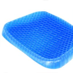 Soft Egg Rubber Gel Cushion Sitter Soft Breathable Honeycomb Cushion Memory Seat Pillow Flex Pillow