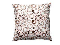 Button Design Printed Cushions