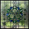 Natural Dk Original Stained Glass