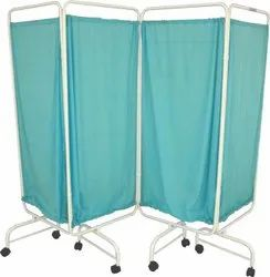 Hospital Bed Side Screen - 4 Panels