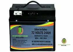 72V 24Ah Lithium Ion Battery for Electric Vehicle