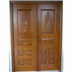 Pure Sagwan Wooden Door