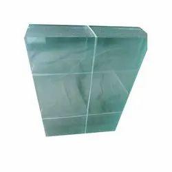 Toughened Plain Glass, Shape: Rectangular